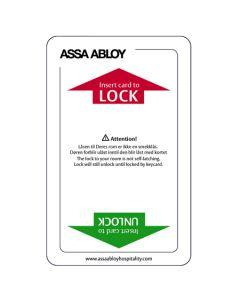Keycard magstripe E/R 2 magstripes standard LoCo