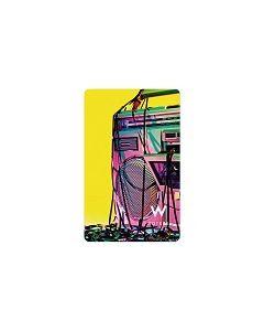 Keycard RFID W Hotels 01 Boom-Box Tape 4/1 Mifare 1K